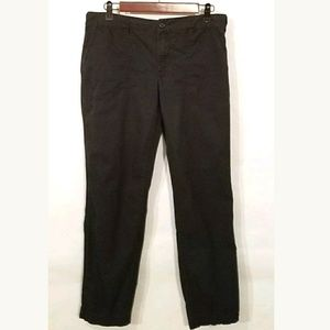 RALPH LAUREN 1967 Black Cotton Khaki Pants
